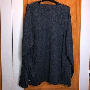Nike Dri-Fit Long Sleeve Shirt Size XL